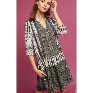 Anthropologie Tiny Mollie Tunic Dress Shift